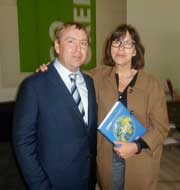 A meeting of Vladimir Kosterin with deputy of EuroParliament Rebecca Harms was held