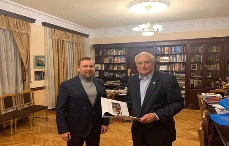 Состоялась встреча Владимира Костерина с академиком Сергеем Комисаренком