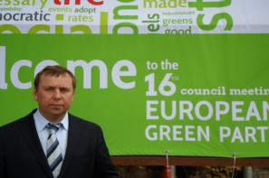 European Greens have discussed environmental problems in Ukraine