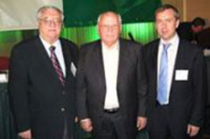 A meeting of the leader of GPU Kosterin and Gorbachev was held