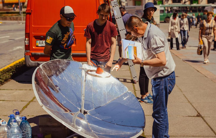 Солнечная энергетика поможет Украине быть независимым государством