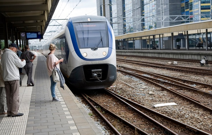 Dutch electric trains become 100% powered by wind energy
