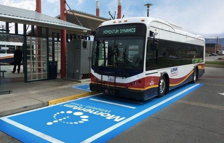 В США электроавтобусы будут заряжать на ходу