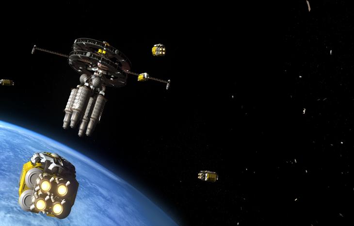 Как решить проблему космического мусора