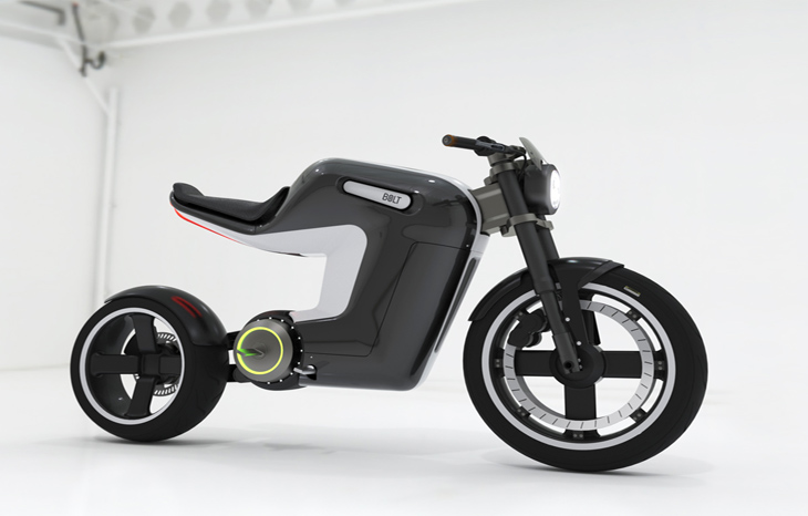 This electric bicycle can go up to 40 mph