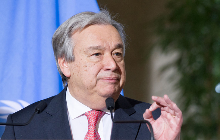 At Davos, UN chief urges 'big emitters' to take climate action