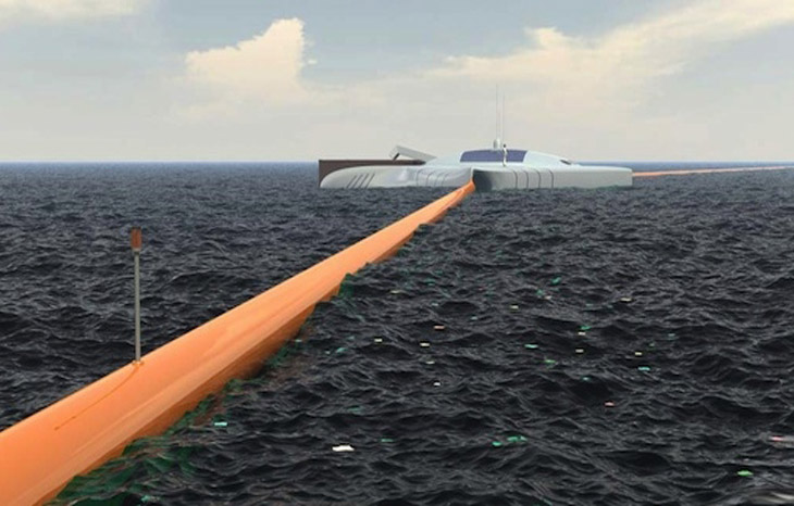 Boy genius Boyan Slat's giant ocean cleanup machine is real