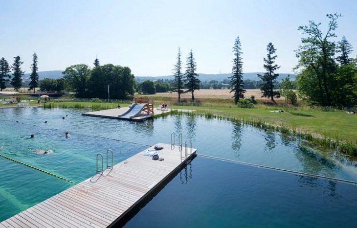В Швейцарии показали «зеленый» бассейн