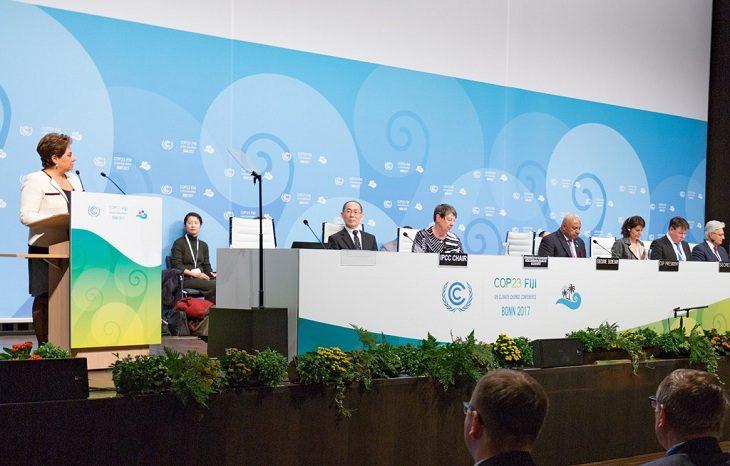 ООН: нужно усилить меры по борьбе с изменением климата