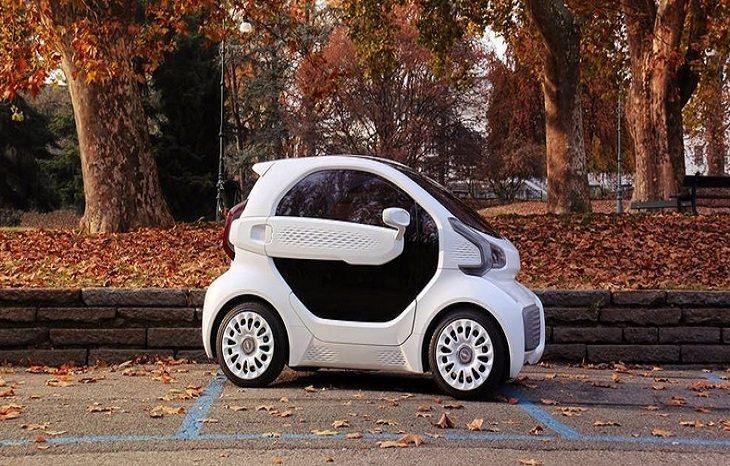 В Китае выпустили первый 3D-печатный электромобиль