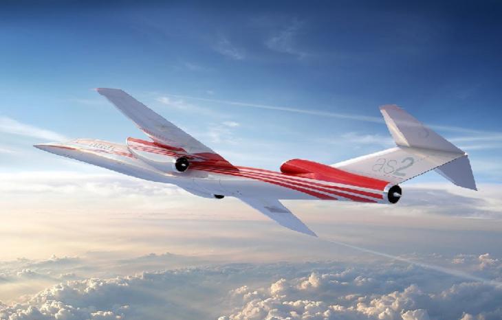 Aerion показал первый сверхзвуковой самолет на биотопливе