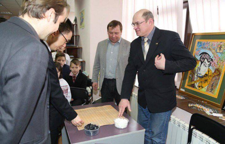 В Киеве открылся новый клуб по игре Го «Кейма»