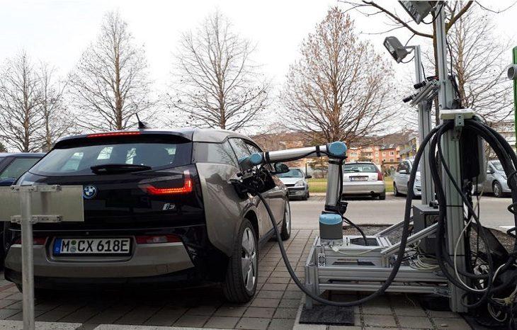 В Австрии показали уникальную зарядку для электромобилей