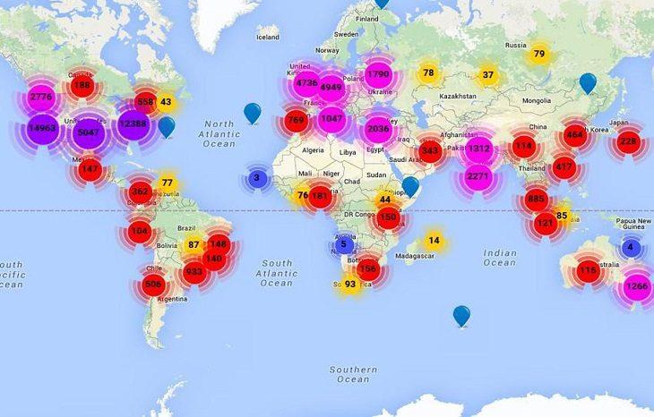 Опубликован рейтинг главных стартап-городов мира