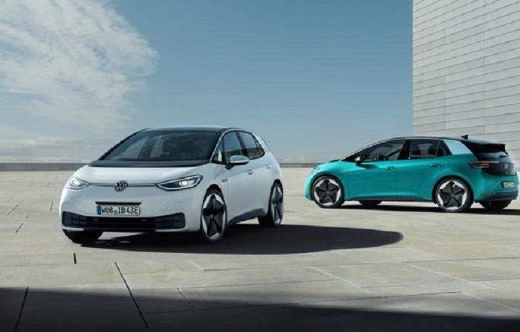 Volkswagen показал первый серийный электрокар