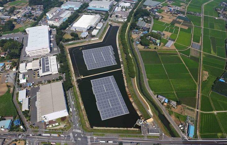 Плавучие панели стали альтернативой солнечным и ветровым электростанциям