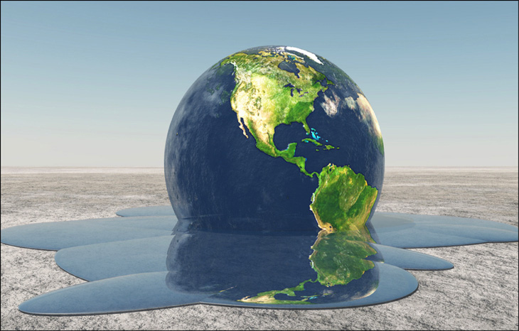 Причиной многих глобальных катастроф в 2018г на Земле стало глобальное потепление