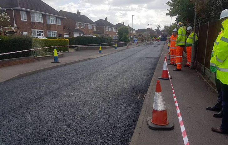 Roads made of recycled plastic are being tested in Britain