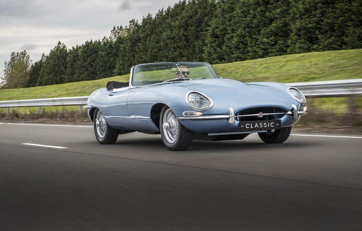 Jaguar презентовал самый красивый электромобиль в мире