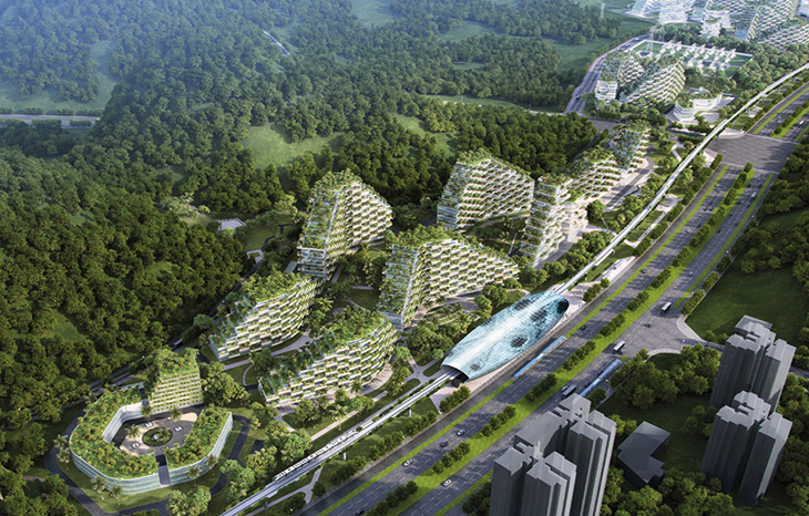 Stefano Boeri's liuzhou forest city masterplan breaks ground in China