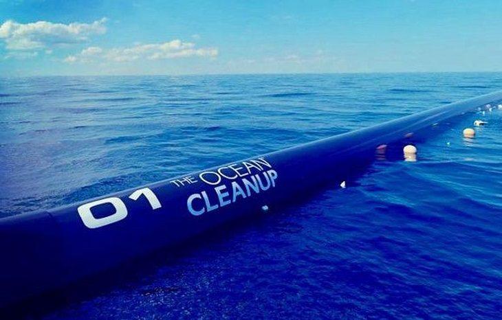 В США запускают систему очистки океана от пластика