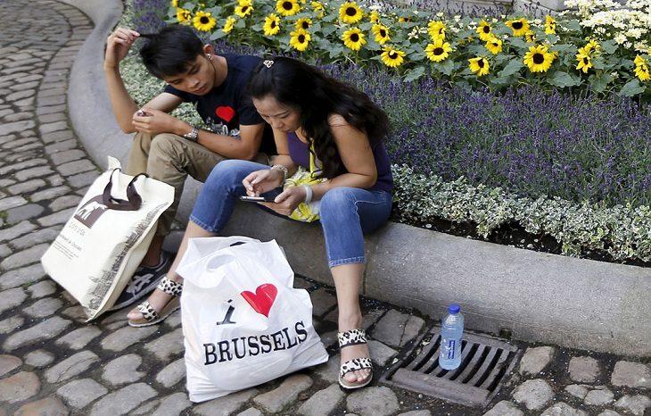 В Брюсселе ввели запрет на использование пластиковых пакетов