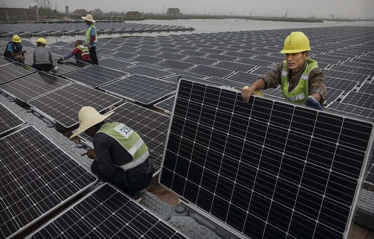 China on track to lead in renewables as US retreats, report says