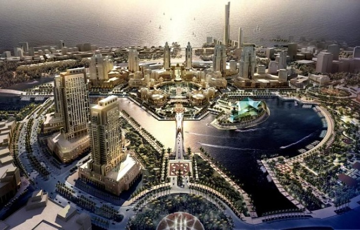 Robots to roam $500 billion Saudi city