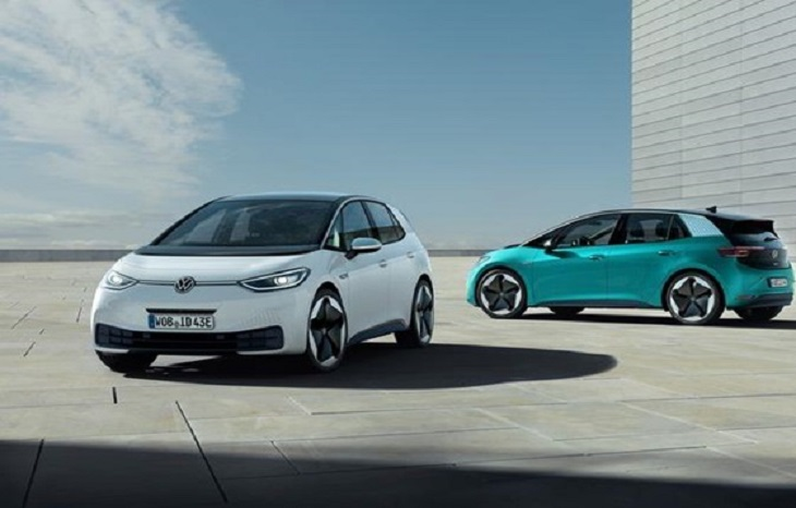 Volkswagen unveils the ID.3, its first 'electric car for the masses'