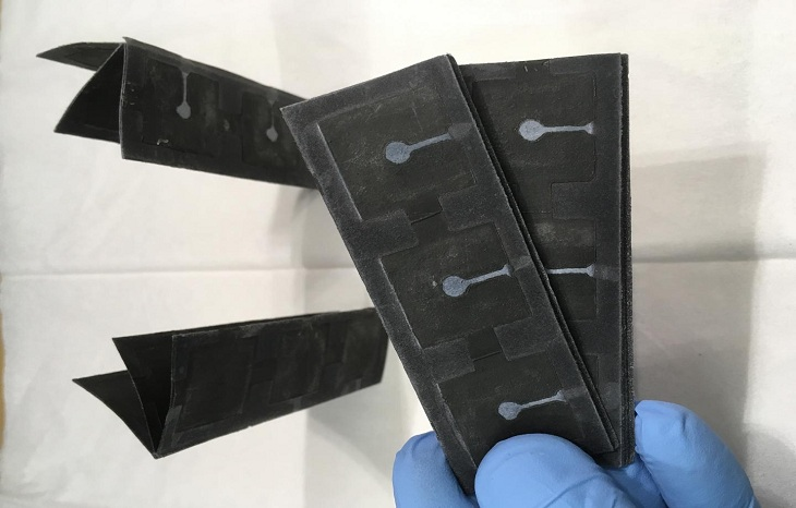 A paper battery powered by bacteria