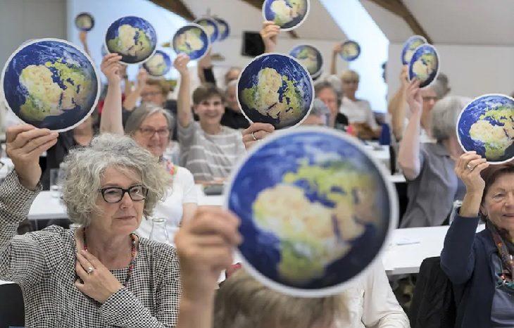 Женщины Швейцарии подали климатические иски в ЕСПЧ