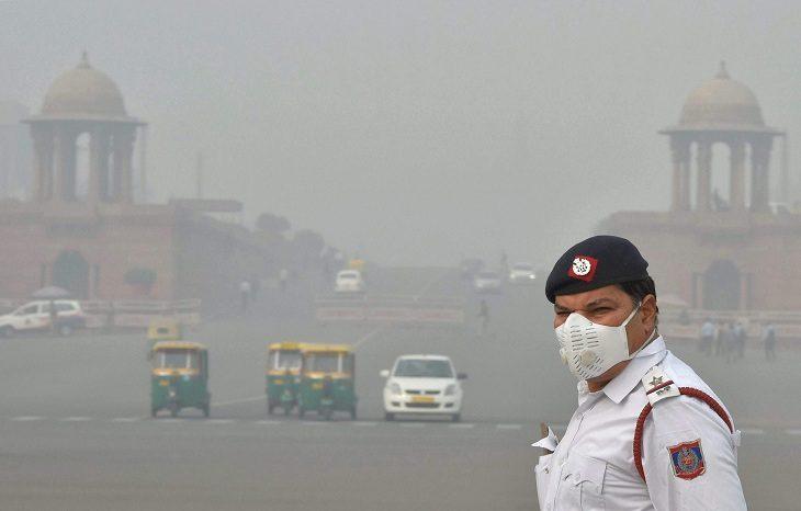В Китае установка на солнечной энергии очистит город от смога