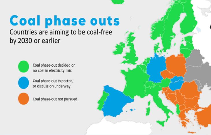 В Европарламенте анонсировали отказ от использования угля к 2030 году