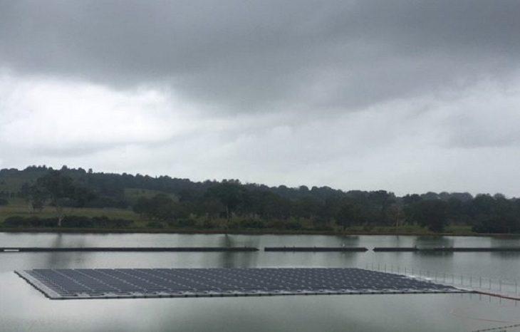 В Австралии заработала крупнейшая плавучая солнечная электростанция