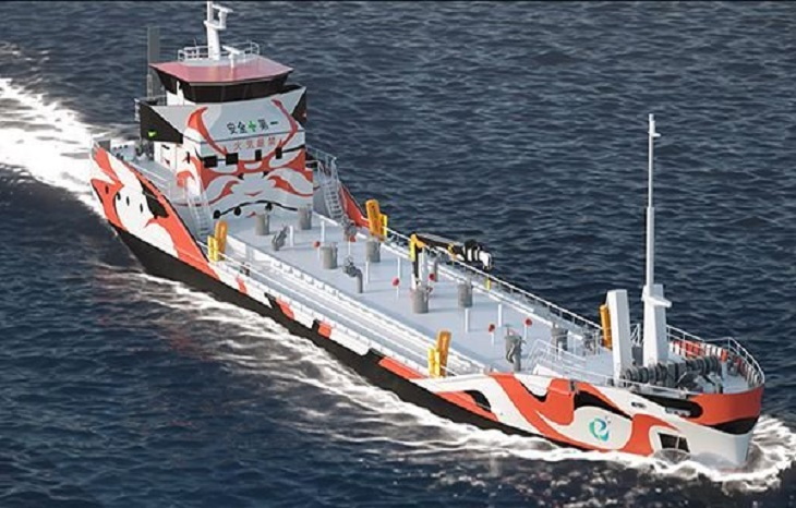 Japanese consortium to build world's first electric tanker