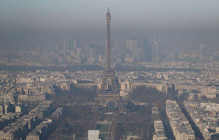 В Париже презентуют новейший способ измерения загрязнения воздуха