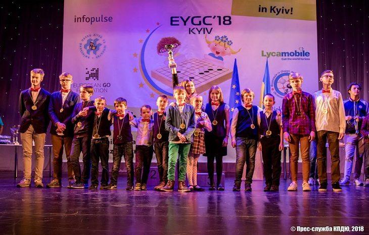 В Киеве прошел Юношеский Чемпионат Европы по Го