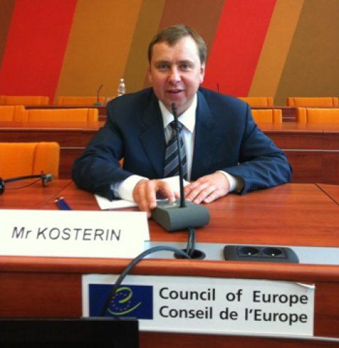 Meeting of Vladimir Kosterin with PACE President Mevlut Cavusoglu