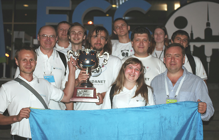 Victory of Ukrainian team at European Go Congress
