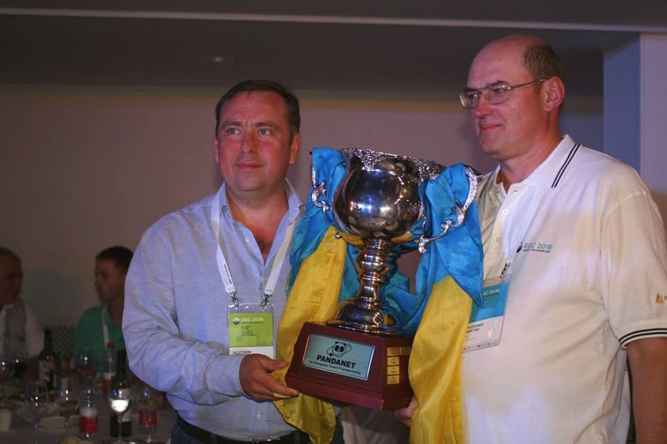 Победа сборной Украины на чемпионате Европы по Го