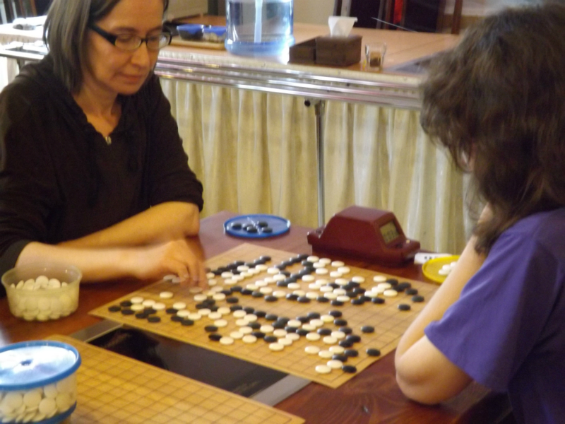 "The open Cup ""Han Gang"" on the game of Go"