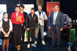 Награждение финалистов школьного эко-конкурса