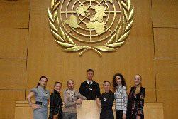 Украинские студенты посетили международные организации