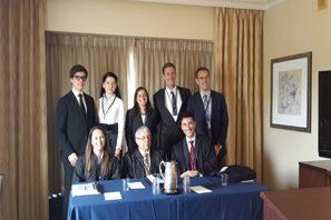 Студенты КИМО приняли участие в международном правовом конкурсе
