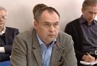 The chief consultant of the National Institute for Strategic Studies Vyacheslav Potapenko
