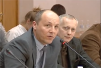 National deputy of Ukraine Andriy Parubiy