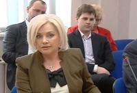 Social and political activist Oksana Bilozir
